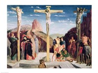 Calvary, after a painting by Andrea Mantegna Fine Art Print
