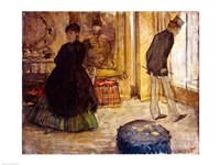 Interior with Two Figures, 1869 by Edgar Degas, 1869 - various sizes