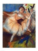 Seated Dancer by Edgar Degas - various sizes