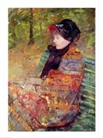 Portrait of Mlle C. Lydia Cassatt, 1880 Fine Art Print
