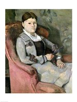 The Artist's Wife in an Armchair, 1867 by Paul Cezanne, 1867 - various sizes