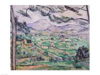 Montagne Sainte-Victoire B Fine Art Print