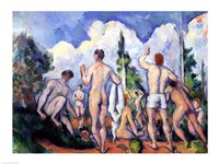 The Bathers by Paul Cezanne - various sizes, FulcrumGallery.com brand
