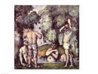 The Five Bathers by Paul Cezanne - various sizes - $16.49