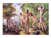 Bathers by Paul Cezanne - various sizes
