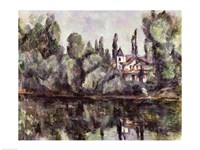 The Banks of the Marne, 1888 Fine Art Print