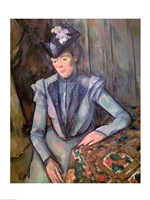 Woman in Blue by Paul Cezanne - various sizes