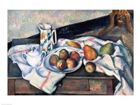 Still Life of Peaches and Pears Fine Art Print