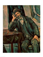 Man Smoking a Pipe Fine Art Print