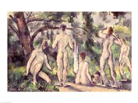 Study of Bathers Fine Art Print