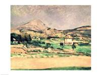 Montagne Sainte-Victoire D Fine Art Print