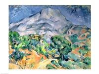 Mont Sainte-Victoire Fine Art Print