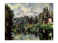 The Banks of the Marne at Creteil, c.1888 Fine Art Print