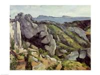 Rocks at L'Estaque Fine Art Print