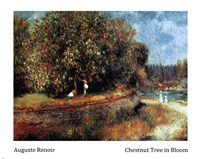 Chestnut Tree in Bloom Fine Art Print