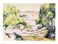 Countryside in Provence by Paul Cezanne - various sizes