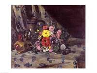 Bouquet of Yellow Dahlias by Paul Cezanne - various sizes