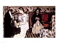 Girl at the Piano Fine Art Print