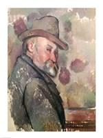 Self Portrait with Hat Fine Art Print