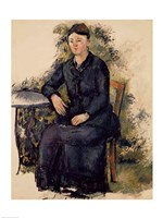 Madame Cezanne in the Garden by Paul Cezanne - various sizes