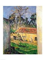 Farmyard at Auvers Fine Art Print