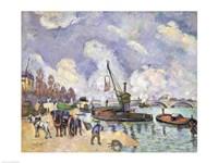 Quai de Bercy, Paris Fine Art Print