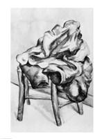 Drapery on a Chair Fine Art Print