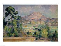 Montagne Sainte-Victoire C Fine Art Print