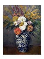 Dahlias by Paul Cezanne - various sizes - $15.99