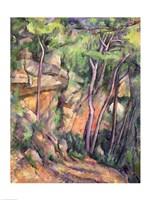 In the Park of Chateau Noir Fine Art Print
