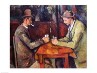 The Card Players, 1893-96 Fine Art Print