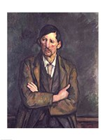 Man with Crossed Arms, 1899 by Paul Cezanne, 1899 - various sizes