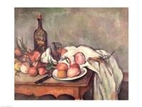 Still Life with Onions, 1895 by Paul Cezanne, 1895 - various sizes