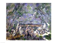 The Bathers-06, 1902 by Paul Cezanne, 1902 - various sizes, FulcrumGallery.com brand