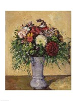Bouquet of Flowers in a Vase, c.1877 Fine Art Print