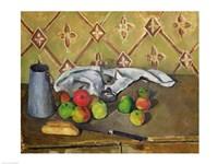 Fruit, Serviette and Milk Jug-82, 1879 by Paul Cezanne, 1879 - various sizes