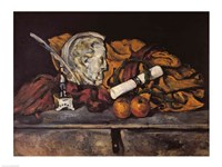 Still Life of the Artist's Accessories, 1872 by Paul Cezanne, 1872 - various sizes, FulcrumGallery.com brand