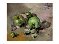 Green Apples by Paul Cezanne - various sizes