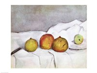 Fruit on a Cloth, c.1890 Fine Art Print