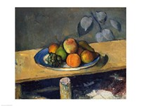Apples, Pears and Grapes, 1879 by Paul Cezanne, 1879 - various sizes