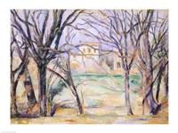 Trees and houses, 1885-86 Fine Art Print