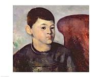 Portrait of the artist's son-82, 1881 by Paul Cezanne, 1881 - various sizes