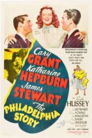 The Philadelphia Story - Cary Grant Framed Print