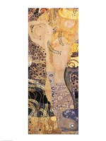 Water Serpents I by Gustav Klimt - various sizes, FulcrumGallery.com brand