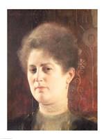 Portrait of a lady by Gustav Klimt - various sizes