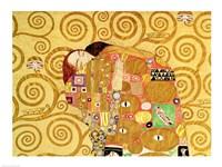 Fulfilment (detail) by Gustav Klimt - various sizes
