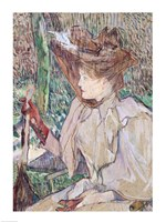 Woman with Gloves, 1891 by Henri de Toulouse-Lautrec, 1891 - various sizes