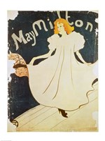 May Milton, France, 1895 Fine Art Print