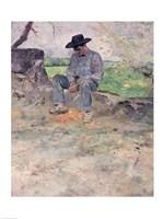 Young Routy at Celeyran, 1882 by Henri de Toulouse-Lautrec, 1882 - various sizes