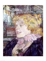 The English Girl from 'The Star' at Le Havre, 1899 by Henri de Toulouse-Lautrec, 1899 - various sizes - $16.49